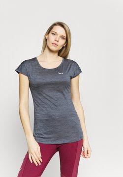 Salewa - PUEZ DRY TEE - T-Shirt basic - premium navy melange