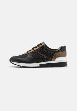 MICHAEL Michael Kors - ALLIE TRAINER - Sneakers laag - black/bronze