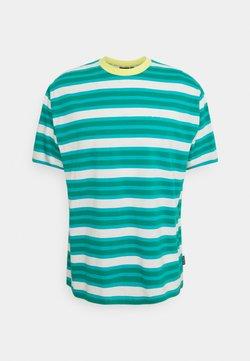 Kickers Classics - STRIPE TEE - T-Shirt print - green/aqua
