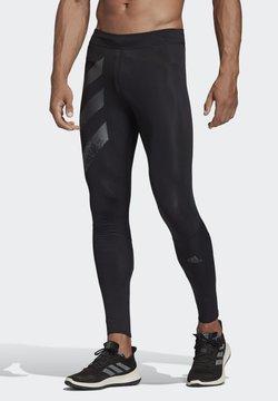 adidas Performance - SATURDAY LONG TIGHTS - Collants - black