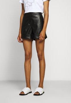 KARL LAGERFELD - Pantalon en cuir - black