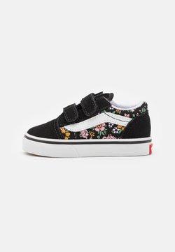 Vans - OLD SKOOL  - Sneakersy niskie - black/true white