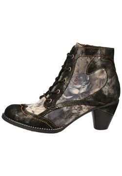 LAURA VITA - Ankle Boot - acier