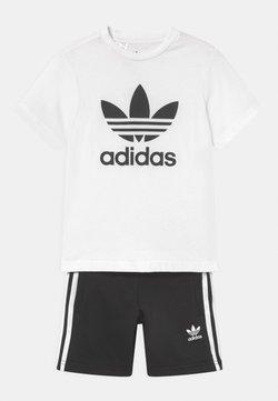 adidas Originals - SET UNISEX - T-shirt imprimé - white/black