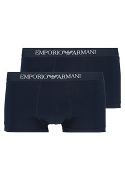 Emporio Armani - TRUNK 2 PACK - Shorty - navy blue