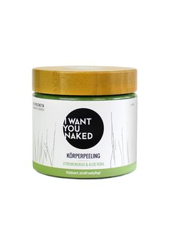 I WANT YOU NAKED - BODY SCRUB 720G - Körperpeeling - zitronengras & aloe vera