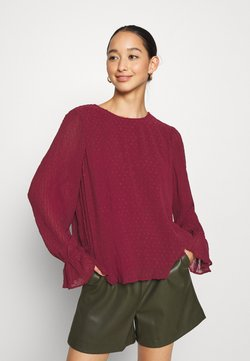 Vero Moda - VMALBERTE  - Blusa - cabernet