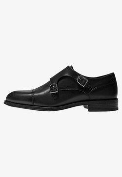 Massimo Dutti - SCHWARZE MONK-SCHUHE 12250550 - Business-Slipper - black