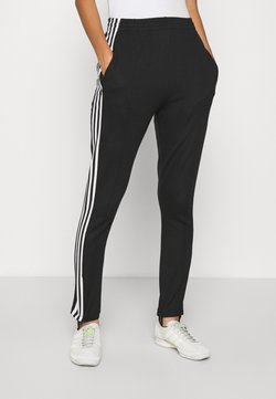 adidas Originals - 70S PANT - Legginsy - white/black