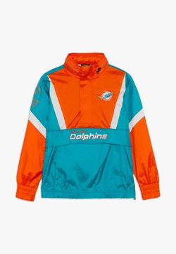 Outerstuff - NFL MIAMI DOLPHINS - Windbreaker - turbogreen/brilliant orange