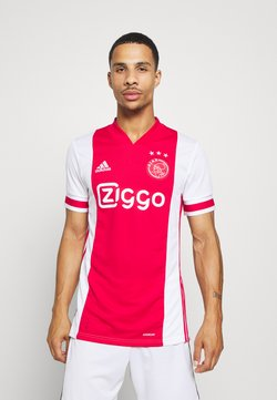 adidas Performance - AJAX AMSTERDAM AEROREADY FOOTBALL - Vereinsmannschaften - white/red