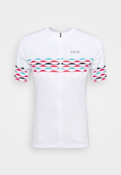 Gore Wear - SKYLINE - T-Shirt print - white/blue