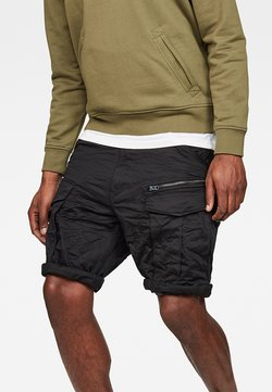 G-Star - ROVIC ZIP RELAXED  - Shorts - black