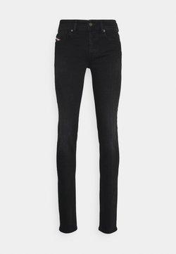Diesel - SLEENKER-X - Jeans slim fit - black denim