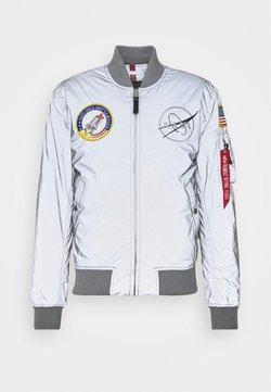 Alpha Industries - NASA REFLECTIVE - Bomberjacks - silver
