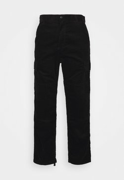 Carhartt WIP - KEYTO PANT FORD - Cargo trousers - black rinsed