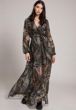 Guess - Maxi-jurk - mehrfarbig braun