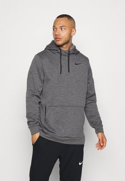 Nike Performance - Kapuzenpullover - charcoal heather/black