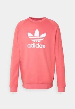 adidas Originals - TREFOIL CREW UNISEX - Bluza - light pink