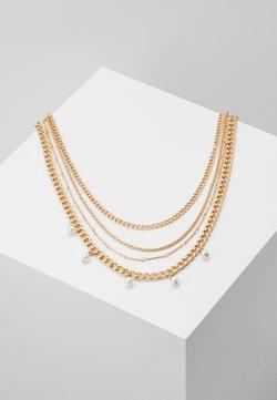 Pieces - PCDORIS COMBI NECKLACE - Necklace - gold-coloured