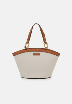 Forever New - AMY CURVED TOP TOTE BAG - Shoppingväska - tan