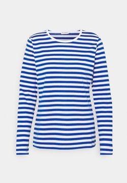 Marimekko - MARI - Langarmshirt - white/blue