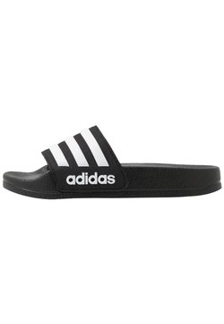 adidas Performance - ADILETTE SHOWER - Badslippers - core black/footwear white