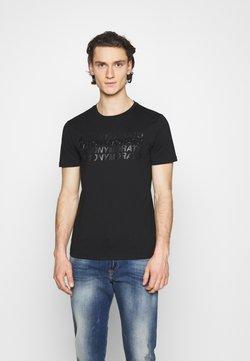 Antony Morato - SLIM FIT WITH LOGO - Camiseta estampada - nero