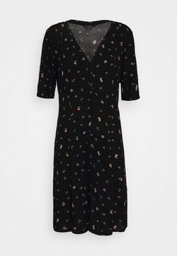 Monki - WINONA DRESS - Freizeitkleid - black