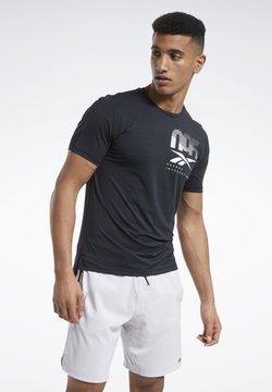 Reebok - ACTIVCHILL GRAPHIC MOVE T-SHIRT - T-Shirt print - black