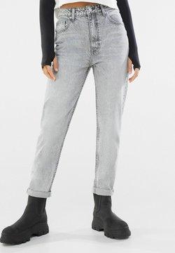 Bershka - Slim fit -farkut - grey