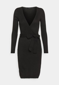 Trendyol - Strikket kjole - black