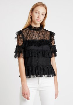 By Malina - RACHEL BLOUSE - Blouse - black