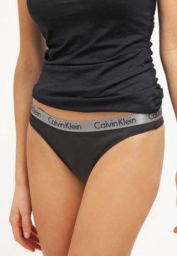 Calvin Klein Underwear - RADIANT THONG - String - black