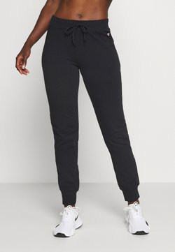 Champion - CUFF PANTS - Verryttelyhousut - black