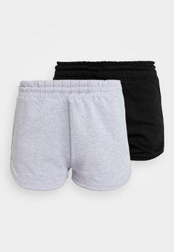 Missguided - RUNNER 2 PACK - Jogginghose - black/grey