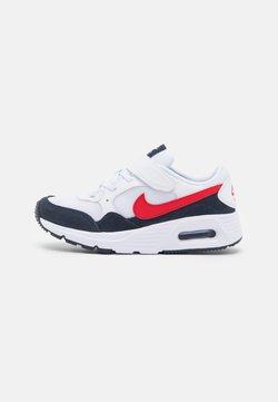 Nike Sportswear - AIR MAX SC UNISEX - Sneakersy niskie - white/univeristy red/obsidian