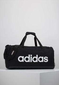 adidas Performance - LIN DUFFLE M - Sporttasche - black/white