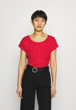 Esprit - CORE - T-Shirt print - red