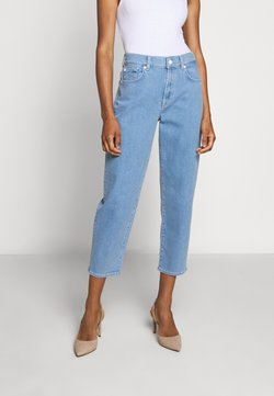 7 for all mankind - MALIA SIMPLICITY - Jeans baggy - light blue
