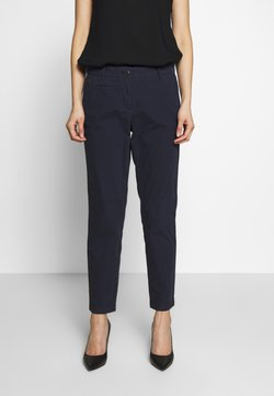 Marc O'Polo - PANTS FIT MEDIUM RAISE - Chinot - night sky