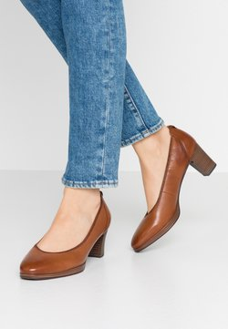 Tamaris - COURT SHOE - Pumps - cognac