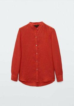 Massimo Dutti - UNIFARBENES  - Camicia - orange