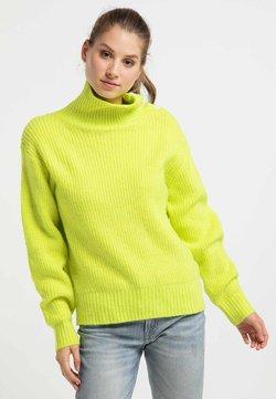 myMo - Strickpullover - neon green