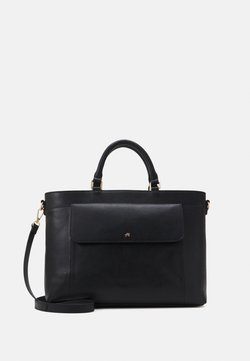 Anna Field - LEATHER - Briefcase - black