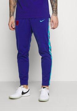 Nike Performance - FC BARCELONA PANT TAPE - Vereinsmannschaften - deep royal blue/oracle aqua