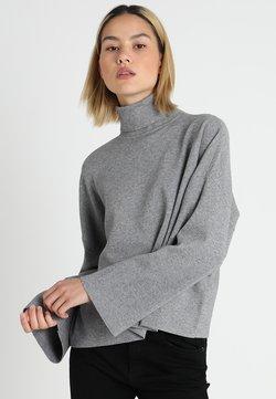 Noisy May - NMSHIP ROLL NECK - Trui - medium grey