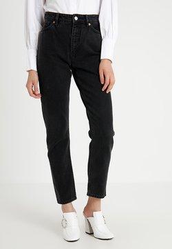 Monki - KIMOMO - Jeans baggy - black