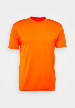 Endurance - VERNON PERFORMANCE TEE - Camiseta básica - shocking orange