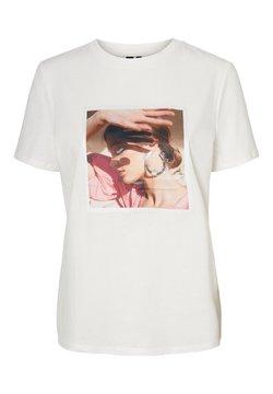 Vero Moda - T-shirt print - snow white 2